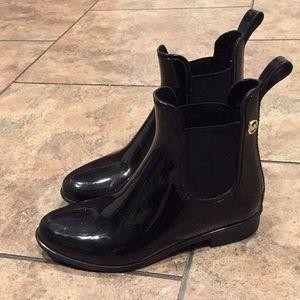 Michael Kors rain ankle boots booties 6 khors shoe